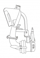 SN10 MOESCHA - Łyżka rozlewająca do gnojowicy MOESCHA