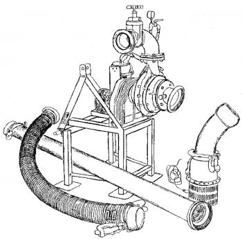 C000 Pompownie ciągnikowe systemów deszczuj.
