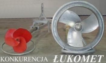 Mieszadło ciagnikowe (wałowe ŁUKOMIX 760 L - lagunowe)