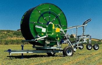 Deszczownie bębnowe IRTEC 110G/350 są przeznaczone do nawodnień upraw rolniczych, ogrodniczych, szkółek leśnych, terenów zielonych itp.