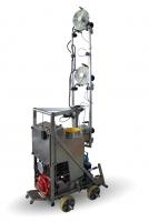 Atomizerowy opryskiwacz - robot szklarniowy
