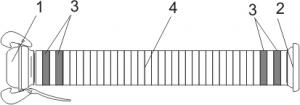 Rury półelastyczne szybkozłączne PCV typ B