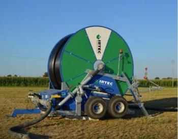 Deszczownie szpulowe IRTEC typu MUSTANG  Specjal są przeznaczone do nawadniania rolniczych upraw polowych,  ogrodniczych, użytków zielonych itp.