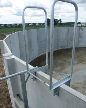 Drabina wejściowa, bezpieczeństwa i balkonik zbiornika