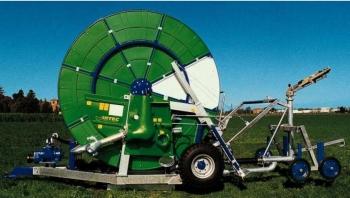 Deszczownie szpulowe IRTEC typ GI/F są przeznaczone do nawadniania rolniczych upraw polowych, ogrodniczych, użytków zielonych itp.