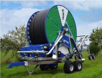 Deszczownie szpulowe IRTEC typ G4 są przeznaczone do nawodniania upraw rolniczych, ogrodniczych, użytków zielonych itp.