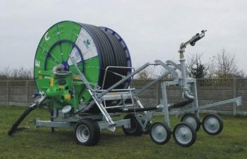 Deszczownie bębnowe IRTEC 100G/500 są przeznaczone do nawodnień upraw rolniczych, ogrodniczych, szkółek leśnych, terenów zielonych itp.