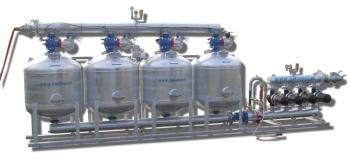 Stacja oczyszczania wody 4 zbiornikowa