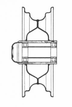 Koła pneumatyczne podwójnie łożyskowane