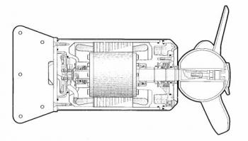 SG50,PR1 Mieszadło kanałowe elektryczne zatapialne