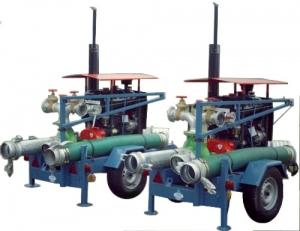 Pompy wielkiej wydajności spalinowe popowodziowe SQ150