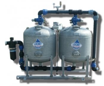 Stacja oczyszczania wody 2 zbiornikowa