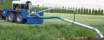 Pompownia spalinowa na podwoziu terenowym